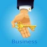 企业钥匙 向量例证