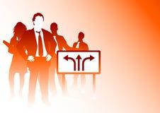 企业链接 免版税库存图片