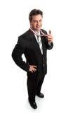 企业销售人员小的年 免版税库存图片
