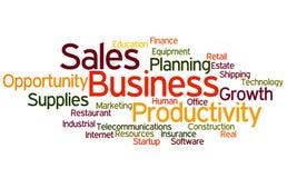 企业销售额 免版税库存图片