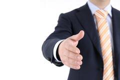 企业问候 免版税库存图片