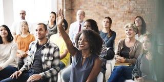企业队会议研讨会训练概念