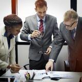 企业队公司机构会议概念 免版税图库摄影