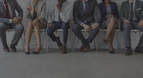 企业队办公室工作者企业家概念 库存照片