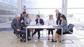 企业队在办公室 股票录像