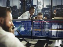 企业队投资企业家贸易的概念 库存照片