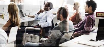 企业队计划想法战略概念 免版税库存照片