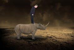 企业隐喻,销售,营销,成功 免版税库存图片