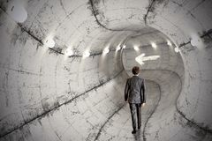 企业隧道 库存照片
