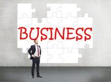 企业难题 免版税库存图片