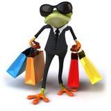 企业青蛙 皇族释放例证