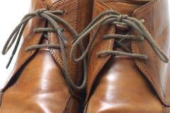 企业鞋子 免版税库存图片