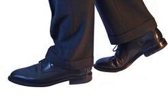 企业鞋子 库存图片
