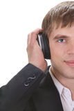 企业音乐 库存图片