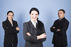 企业领导小组 库存图片