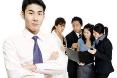 企业领导 库存照片