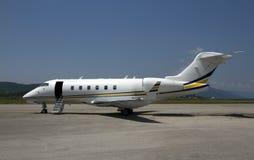 企业飞机 免版税图库摄影