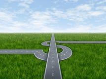 企业高速公路成功 库存照片