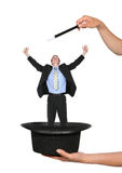 企业魔术人 库存照片