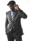 企业黑人 免版税库存图片
