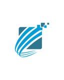 企业财务专业商标传染媒介 免版税图库摄影