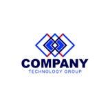 企业财务专业商标模板传染媒介象 库存照片