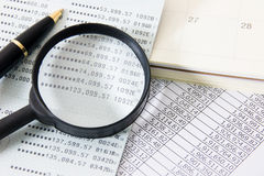 企业财务 免版税库存图片