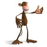 企业猴子 免版税库存照片
