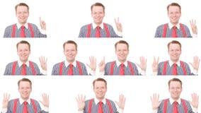 企业读秒 免版税图库摄影