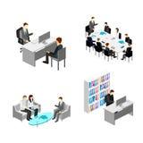 企业逻辑分析方法和财务审计 免版税库存图片