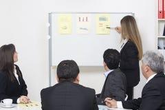 企业介绍 免版税图库摄影