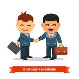 企业businessoffer关闭交易每极大可能招呼现有量震动对二工作的其他人员 免版税库存照片