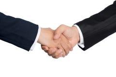 企业businessoffer关闭交易每极大可能招呼现有量震动对二工作的其他人员 免版税库存图片