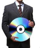 企业cd 免版税库存照片