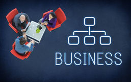 企业Chart Company概念 图库摄影