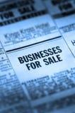 企业classifieds销售额 库存照片