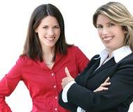 企业corproate headshot妇女 免版税库存图片