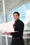 企业handome讲西班牙语的美国人人 免版税图库摄影