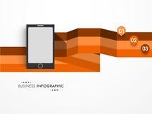 企业infographic布局的概念 库存图片