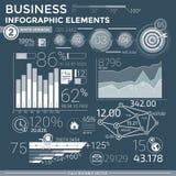 企业infographic要素 免版税库存照片