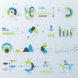 企业infographics 免版税图库摄影