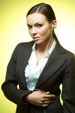企业mg性感的妇女 免版税库存图片