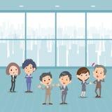 企业people_communication办公室 免版税图库摄影
