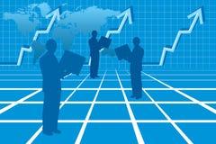 企业succes 免版税库存图片