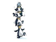 企鹅塔 皇族释放例证