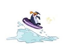 企鹅木筏 皇族释放例证
