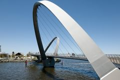 伊丽莎白奎伊桥梁-珀斯-澳大利亚 库存图片