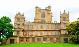 伊丽莎白女王的英国大厅豪宅诺丁汉wollaton 免版税库存照片