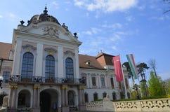 伊丽莎白宫殿在Gödöllö,匈牙利 图库摄影