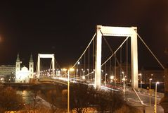 伊丽莎白桥梁 免版税库存照片